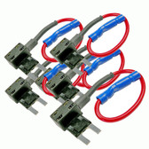 5 Pack ATM Mini Add-A-Circuit Fuse Holder Taps