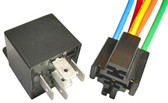 Bosch Style 5 Pin Relay W/ Resistor and Connector