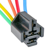 Heavy Duty Flasher Relay Connector 5 Terminal