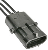 WeatherPack 3 Way Female Shroud Connector