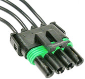 WeatherPack 4 Way Tower Female Connector