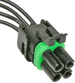 WeatherPak 4 Way Squared Female Connector