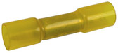 12 10 AWG Yellow Heat Shrink Butt Connectors Pack of 5