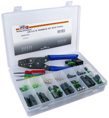 160 Piece GM Weatherpack Terminal Kit With Tools