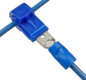 Snap T Tap Quick Connect 16 14 AWG Blue 10 Pack