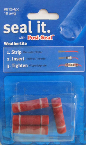 Posi Seal Weather Tite Connectors