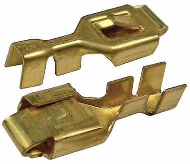 Pack of 50 Brass Tab Lock Terminals