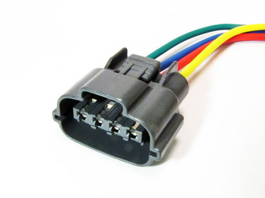 Japanese Oval Alternator Connector 3 or 4 Wire