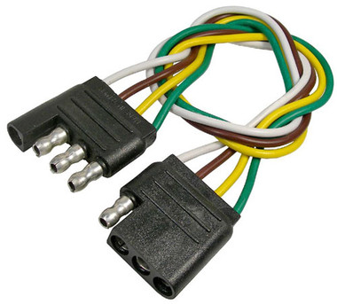 4 Way Molded Trailer Wiring Connector