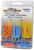25 Piece Assortment Heat Shrink Butt Splices and Ring Terminals