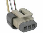 Ford Internal Voltage Regulator Plug 3 Lead Connector