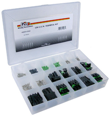 GM Weatherpack Terminal Kit 101 Pieces With Storage Tray