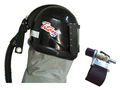 Titan II Supplied Air Respirator Blast Helmet Assembly with Air Flow Controller