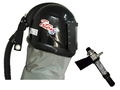 Titan II Supplied Air Respirator Blast Helmet Assembly with Air Cooling Controller