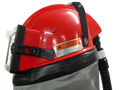 Cosmo Supplied Air Respirator with Standard Cape & Air Flow Controller - Dealer