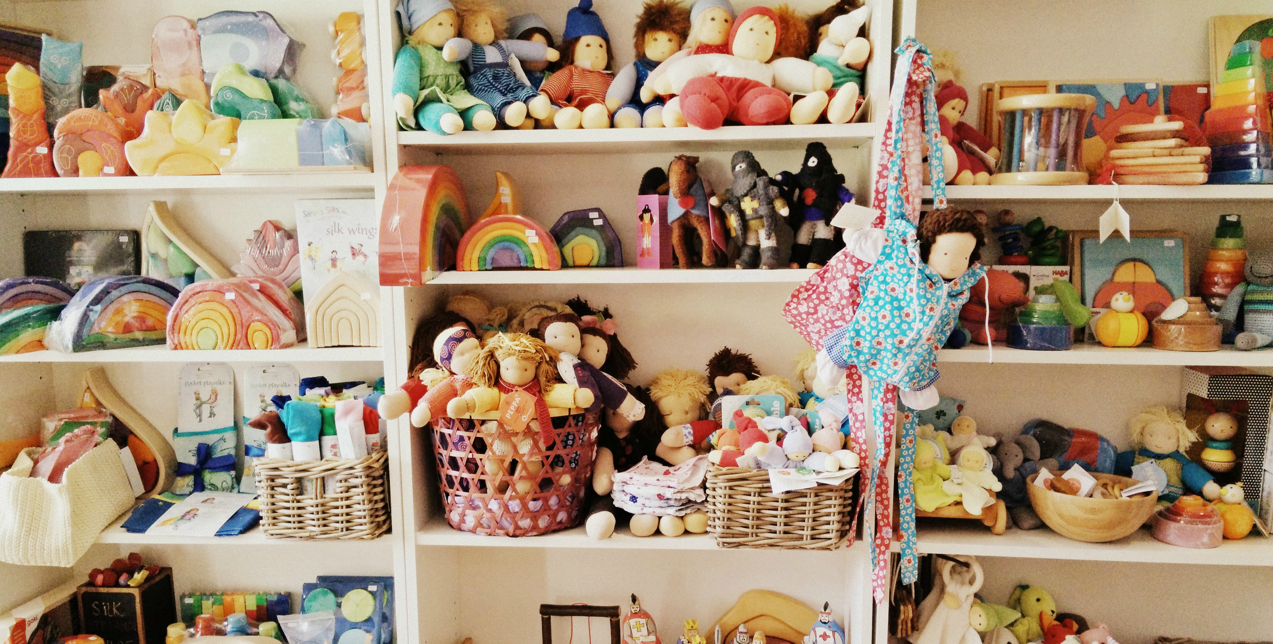 Toy Shelf Line Of Toys Produced In Germany