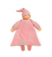 Organic Blanket Doll - Red