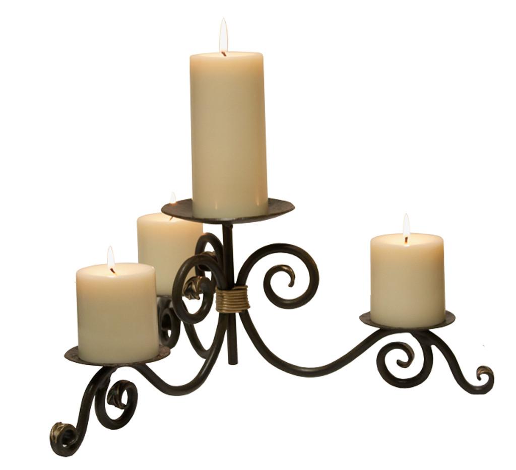 Stratford Iron Candle Holder