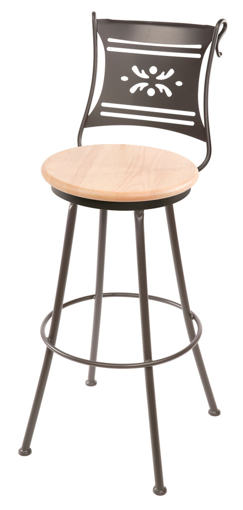 Bistro Iron Bar Stool