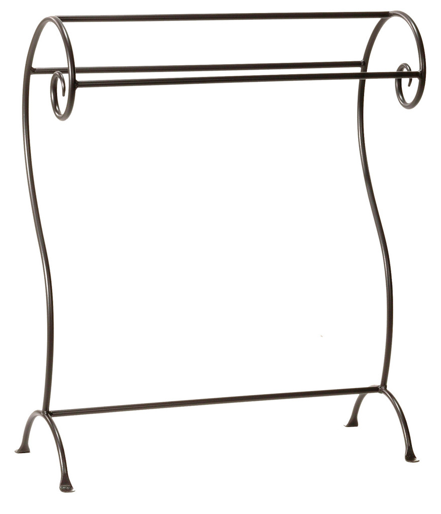 Waterbury Iron Blanket or Towel Stand- Large