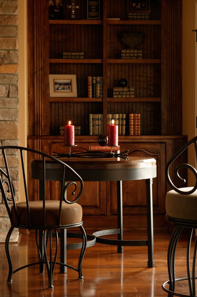 Cedarvale Iron Cafe Table