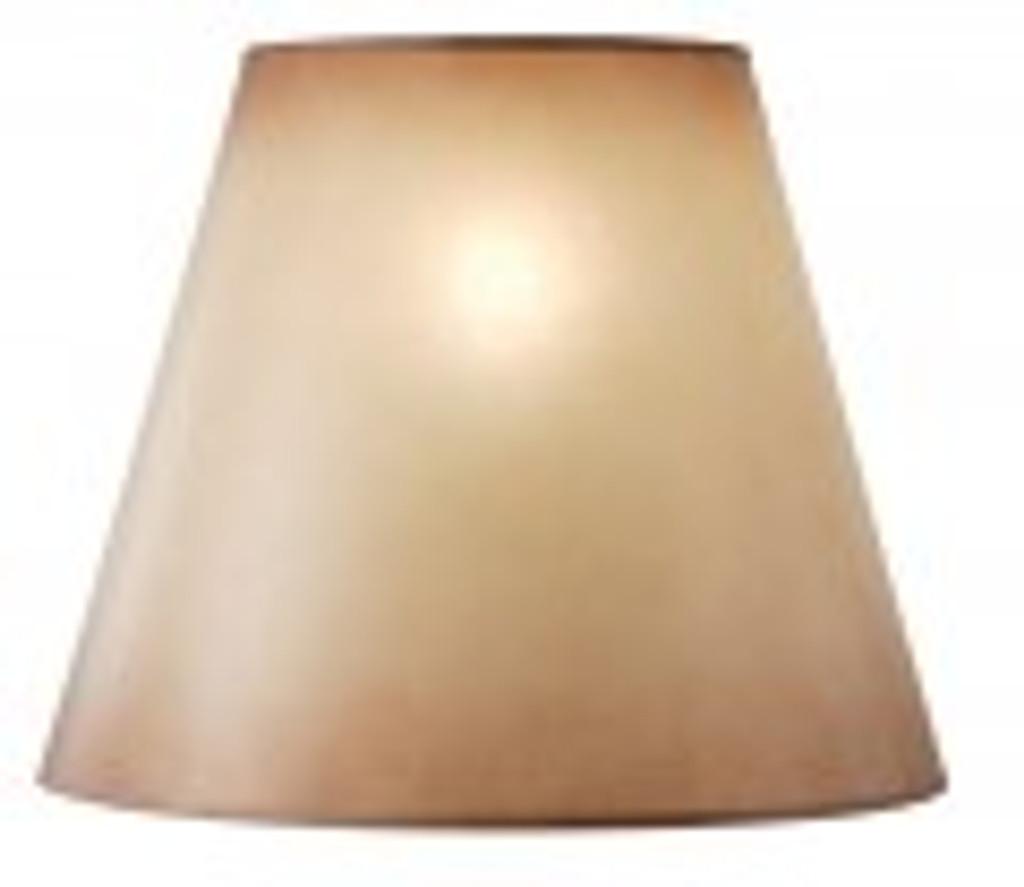 Amber Glow Lamp Shade (15 x 19 x 8.5)