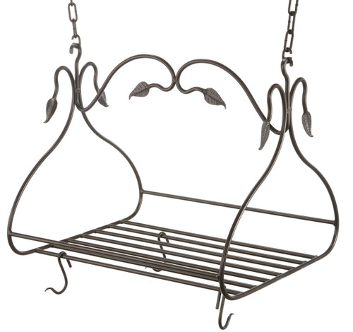 Gourmet Iron Pot Rack Small