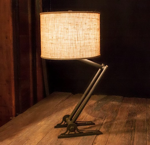 Trestle Iron Lamp