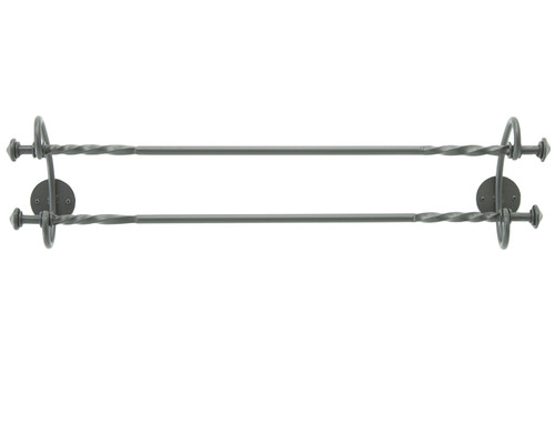 """French Country Double Towel Bar 24"""""""