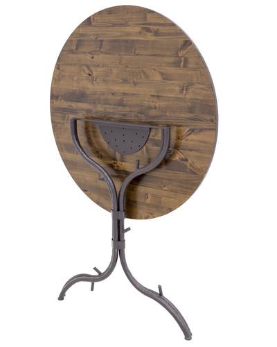 "Woodland 31 Inch Folding Pub Table 40"" Height"