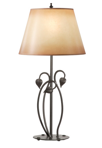 Ginger Leaf Iron Table Lamp
