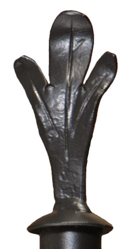 Iron Curtain Finial Trefoil