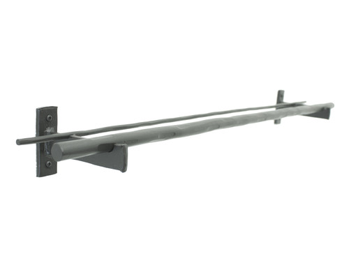 Ranch Iron Double Towel Bar 24""