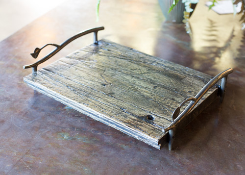 Sassafras Wood Serving Tray