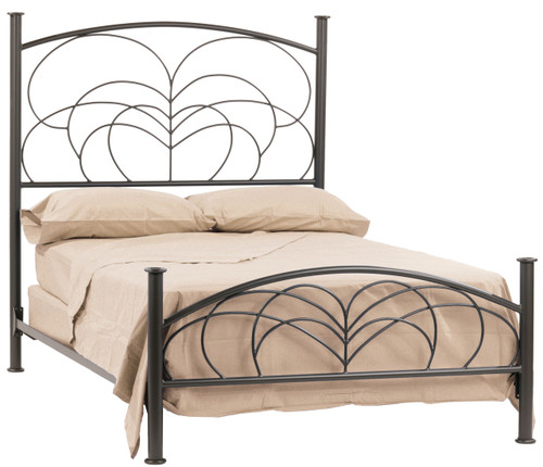 Willow Iron Cal King Bed