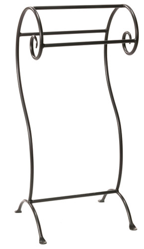 Waterbury Iron Towel Stand- Small