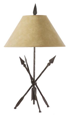 Quapaw Iron Table Lamp