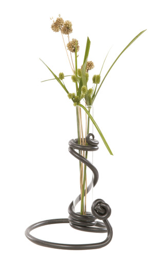 Knot Iron Bud Vase