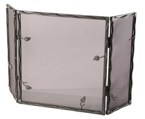 Iron Fire screen Sassafras Collection -Triple Panel