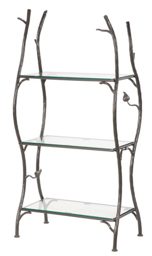 Iron Standing Shelf-Sassafras