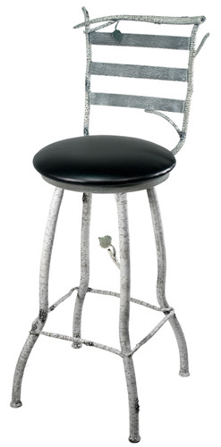 Whisper Creek Iron Bar Stool