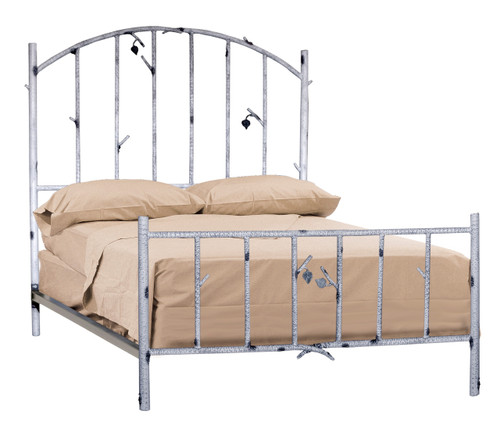 Whisper Creek Queen Iron Bed