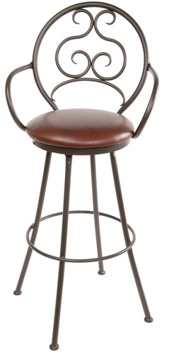 Ranfurlie Iron Bar Stool