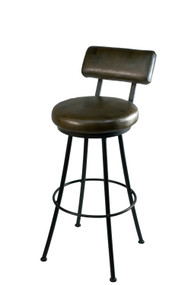 Cedarvale Round Iron Bar Stool
