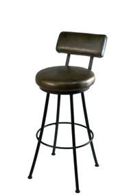 Cedarvale Round Iron Bar Stool