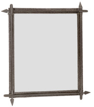 Quapaw Iron Wall Mirror