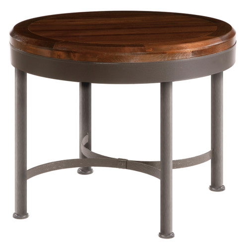 36 Inch Cedarvale Hand Forged Iron Cafe Table
