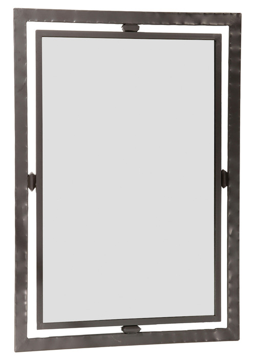 Forest Hill Hand Forged Iron Wall Mirror Small