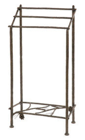 Pine Iron Towel Stand
