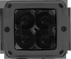 20191 - RIGID INDUSTRIES D-SERIES DUALLY D2 PROTECTIVE POLYCARBONATE LIGHT COVER SMOKE